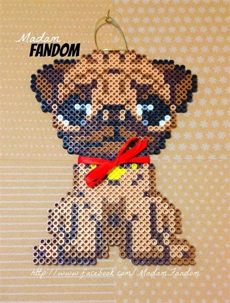 pug perler 74 best perler dogs and cats images on hama doggies and