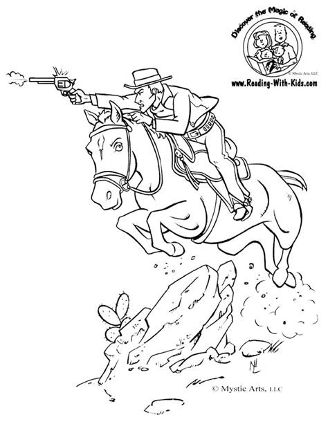 cowboy horse coloring page cowboy coloring pages az coloring pages