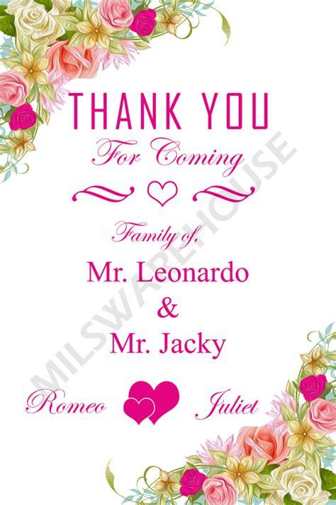 Kartu Ucapan Terima Kasih Untuk Souvenir Kut40x70 jual kartu ucapan terima kasih untuk souvenir pernikahan