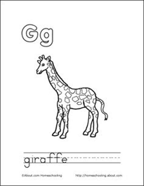 letter g giraffe coloring page 1000 images about letter g on pinterest letter g