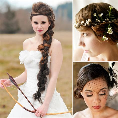 bridal hairstyles on pinterest wedding hair ideas from pinterest popsugar beauty