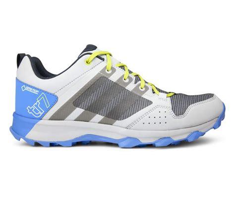 adidas kanadia 7 tr gtx s running shoes blue grey buy it at the keller sports shop