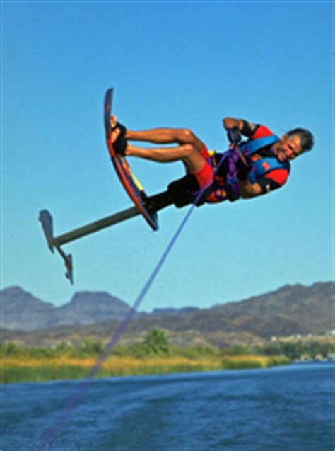 Air Chair Water by Air Chair Flip Back Roll Mike Murphy Water Skiing Sky Ski