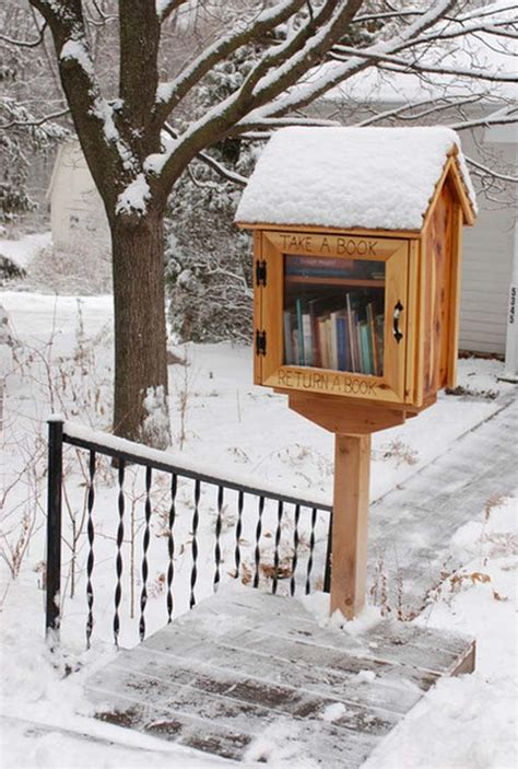 outdoor home library ideas 3 build a free library for your neighbors