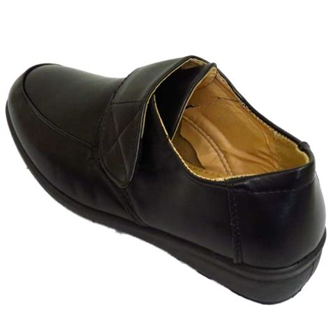 comfortable wedge shoes for work ladies black slip on comfy smart work comfort casual wedge