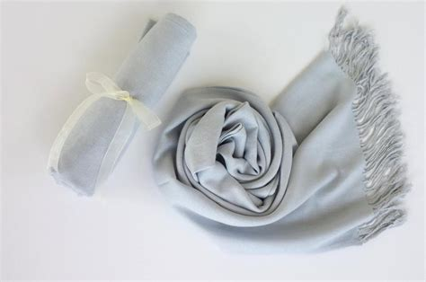 Pasmina Silver Foam 3 silver gray light gray pashminas bridesmaid silver gray shawl pashmina scarf wedding