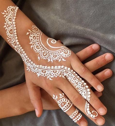 white henna tattoo on hand mehndi designs 2018 henna designs for