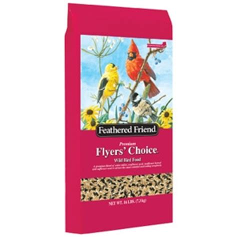 feathered friend flyers choice bird seed sweet meadow