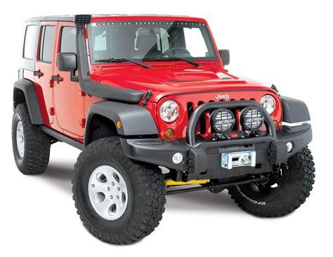 Bumper Jeep Jk Aev Conversions 10305055ad Aev Front Premium Bumper For
