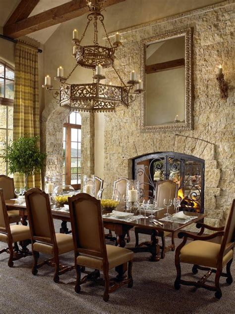 tuscan style dining room tuscan estate in aspen idesignarch interior design architecture interior