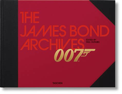 the james bond archives the james bond archives taschen books