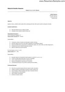 Package Handler Resume Sle by Worker Resume Sle Cafeteria Worker Objective Food