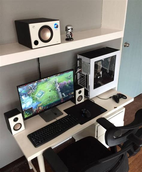gaming desk setup ideas 1000 ideas about gaming setup on computer