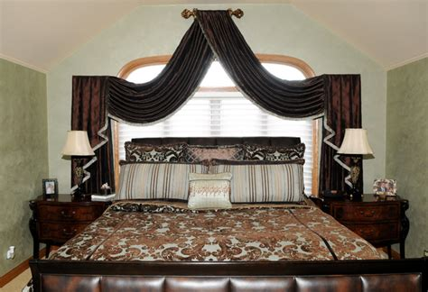 Master Bedroom Modern Curtains Chicago By Beyond Blinds Inc | master bedroom modern curtains chicago by beyond