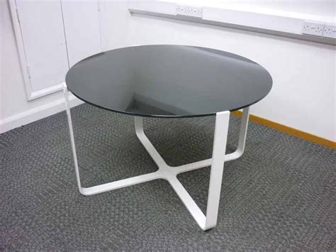 Glass Top Meeting Table Black Glass Top Meeting Table Second Office Table