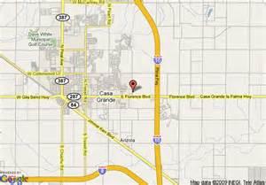 casa grande arizona map map of mainstay suites casa grande casa grande