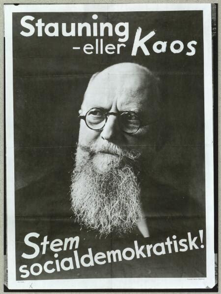 Kaos Der Sar arbejder historie stauning eller kaos