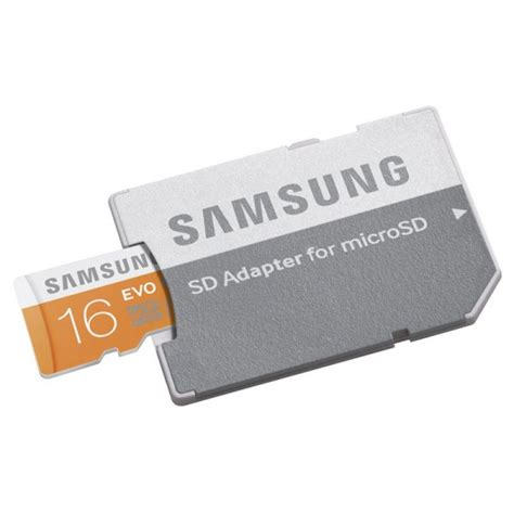 Micro Sd Samsung 16gb samsung 16gb evo micro sd card