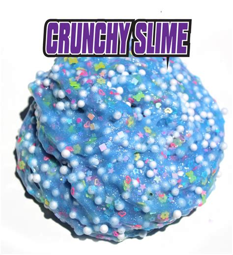 Crunchy Slime Foam Slime how to make slime slime recipes with dj slimeygloop