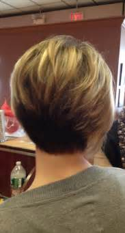modified stacked wedge hairstyle modified stacked haircut short hairstyle 2013