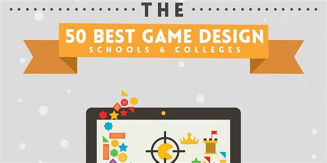 game design qualifications the 50 best video game design programs infographix directory