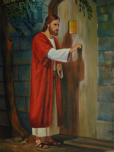 imagenes animadas tocando la puerta painting by the artist pinturas oleos acrilicos quiquivij