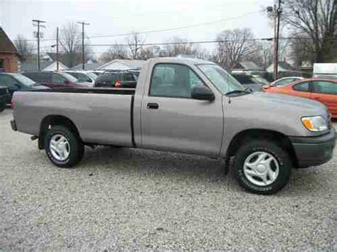 Toyota Tundra Two Door Purchase Used 2001 Toyota Tundra Base Standard Cab