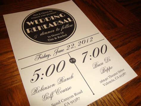 printable wedding rehearsal dinner invitations custom printable vintage wedding rehearsal dinner