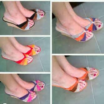 Sandal Selop Tali Wanita Tr03 murah sandal wanita sepatu wanita wedges boots