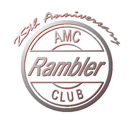 rambler car logo national amc rambler car
