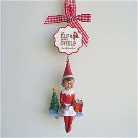 the elf on the shelf ornament hallmark keepsake