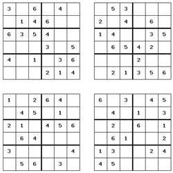 Printable Sudoku Sheets 14 Free Sudoku Word Search And Crossword Printable