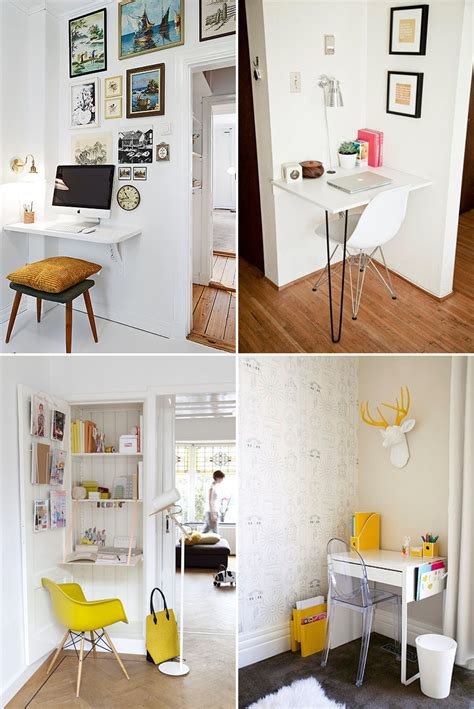 como decorar um escritorio bem pequeno como montar um home office em um espa 231 o pequeno casinha