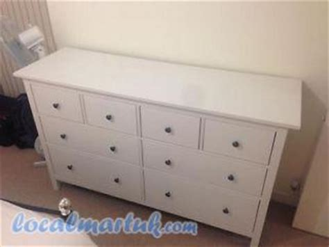 Large Chest Of Drawers White by Large Chest Of 8 Drawers Hemnes White Stain