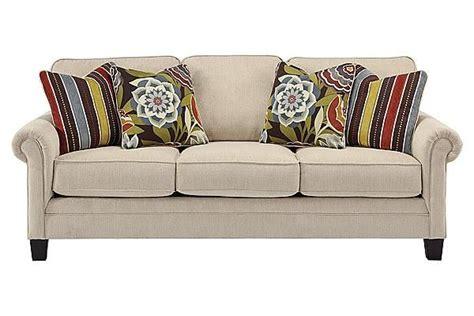 ashley furniture linen sofa the ballari linen sofa from ashley furniture homestore