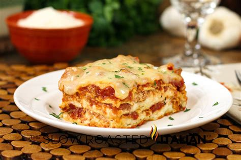printable lasagna recipes 40 minute quick and easy cheesy meat lasagna