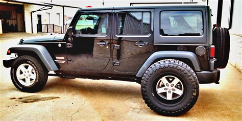 Jeep Wrangler Tire Tire That Will Fit A Stock Jeep Wrangler Jk With