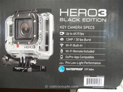 gopro costco gopro hero3 black edition