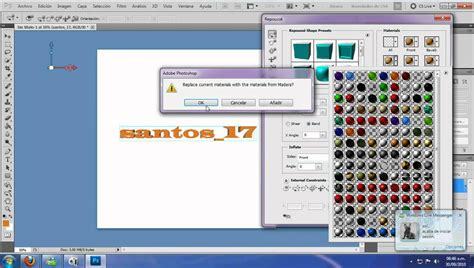 tutorial photoshop adobe cs5 tutorial agregar materiales 3d adobe photoshop cs5 youtube