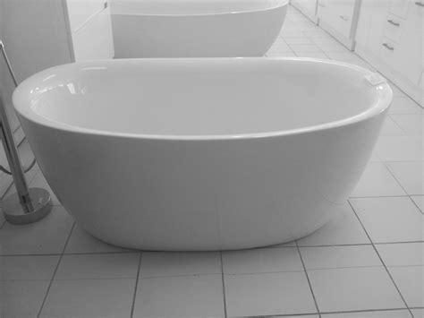 bathroom and shower direct bathroom direct mini omina 1350mm free standing bath tub freestanding bathtub ebay