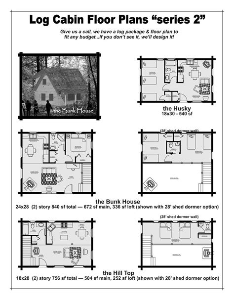 beaver house plans bunkhouse cabin floor plans