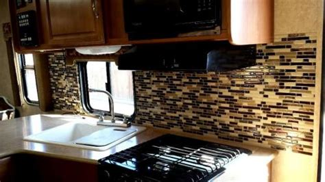 backsplash for rv kitchen inspiration what backsplash tiles can be installed in a rv smart tiles