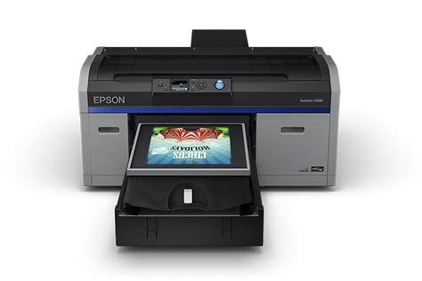Printer Dtg Hp it s official epson announces fast high quality next surecolor f2100 dtg the spectraflow