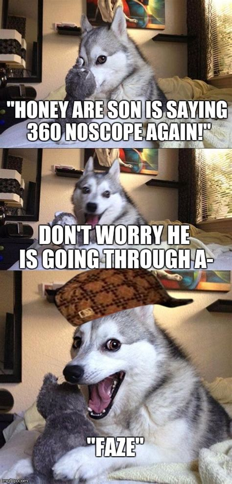 bad pun dog meme imgflip