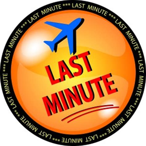 top 5 for last minute travel deals