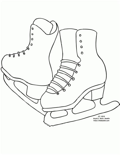 olympic hockey coloring pages 15 best skating crafts images on pinterest ice skating