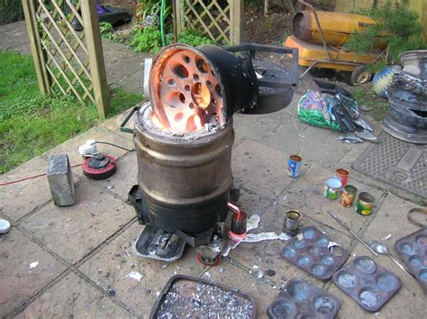 the furnace the artful bodger s home foundry