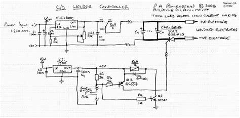 how to make capacitive discharge spot welder ot tig welder vfd using microcontroller to fool tig welder into pulsed dc