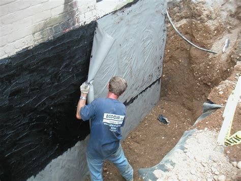 building a waterproof basement concrete basement walls wolofi