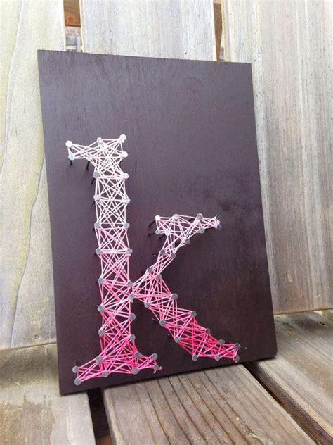 String Alphabet - letter k typography string custom letters by